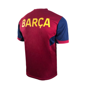 FC Barcelona Raglan Game Class Striker Shirt - Burgundy by Icon Sports