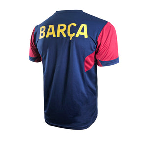 FC Barcelona Raglan Game Class Striker Shirt - Navy