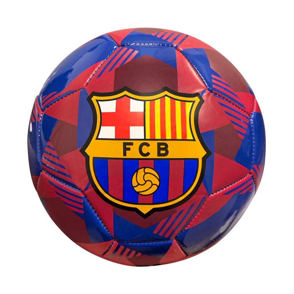 FC Barcelona Prism Size 5 Soccer Ball - Navy by Icon Sports