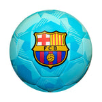 FC Barcelona Prism Size 5 Soccer Ball - Teal by Icon Sports