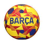 FC Barcelona Prism Size 5 Soccer Ball - Yellow by Icon Sports