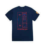 "FC Barcelona ""Next Play"" Youth T-Shirt - Navy by Icon Sports"