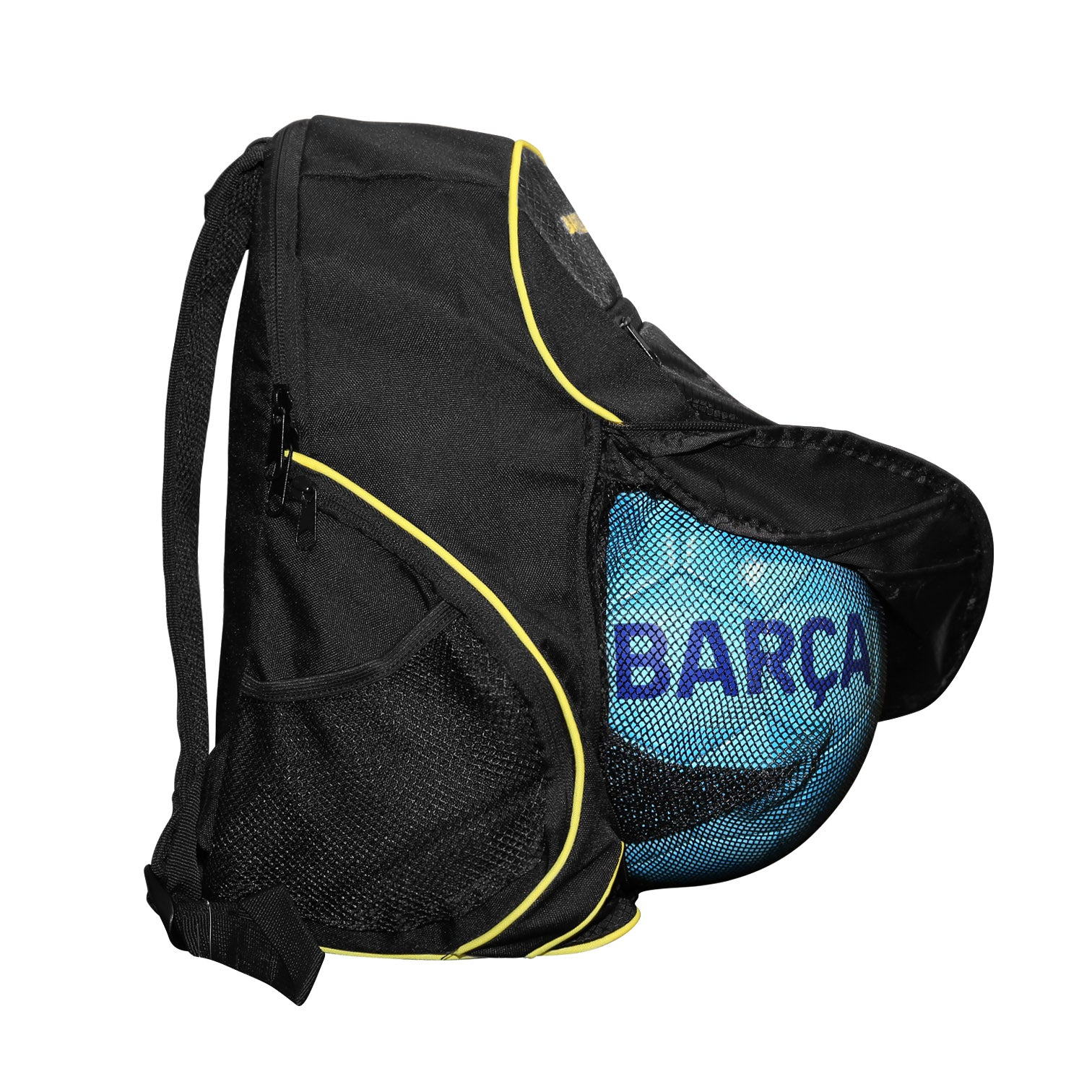 FC Barcelona Youth Soccer Ball Backpack by Icon Sports