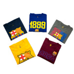 FC Barcelona Adult Graphic T-Shirt Bundle by Icon Sports