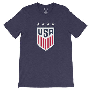 Shannon MacMillan 1999 USWNT 4 Star T-Shirt by Icon Sports