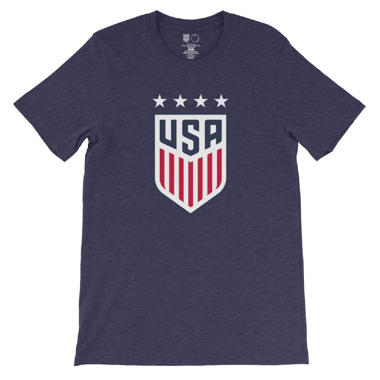 Julie Foudy 1999 USWNT 4 Star T-Shirt by Icon Sports