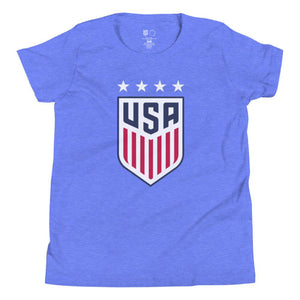 Christen Press Youth USWNT 4 Star T-Shirt