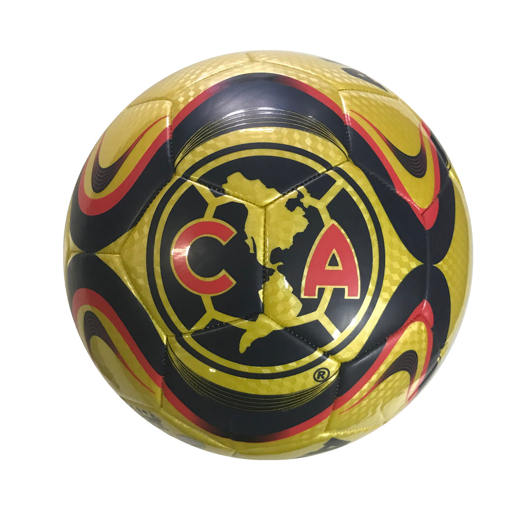 Club América Golden Coined Size 5 Soccer Ball