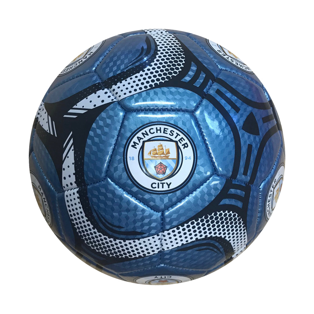 Manchester City Sky Comet Size 5 Soccer Ball by Icon Sports