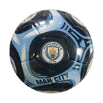 Manchester City Navy Comet Size 5 Soccer Ball by Icon Sports