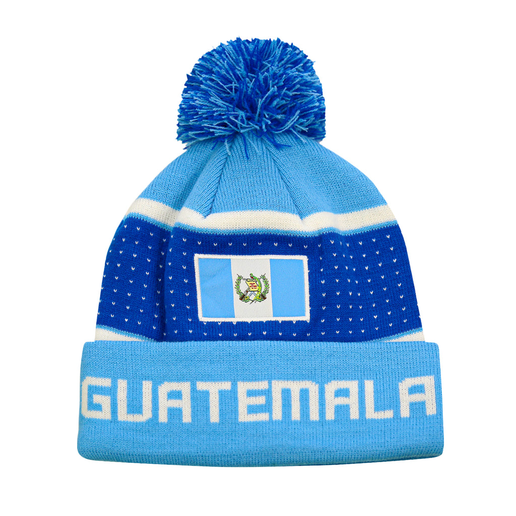 "Guatemala ""Pegged"" Adult Unisex Beanie by Icon Sports"