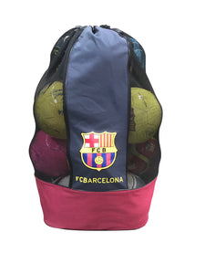 FC Barcelona Heavy Duty Mesh Equipment Ball Bag by Icon Sports