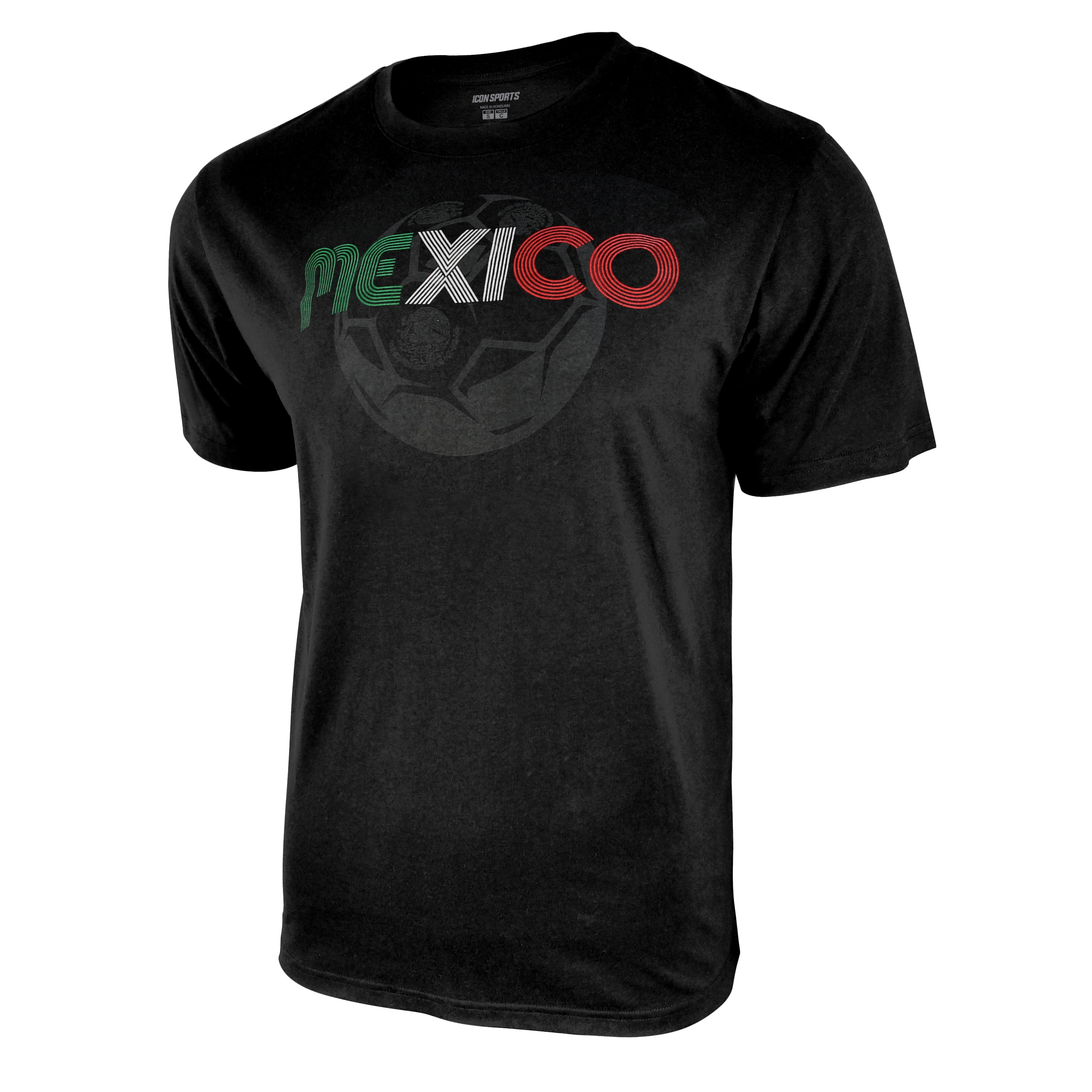 Mexico Adult Unisex Graphic T-Shirt by Icon Sports