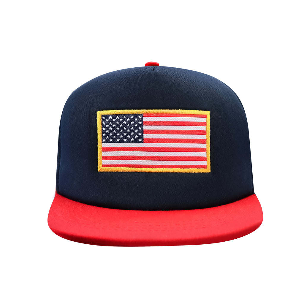 United Sates Country Flag Trucker Hat by Icon Sports