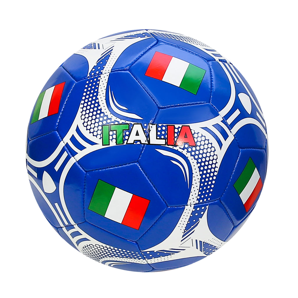 Italy Country Flag Size 5 Regulation Soccer Ball by Icon Sports