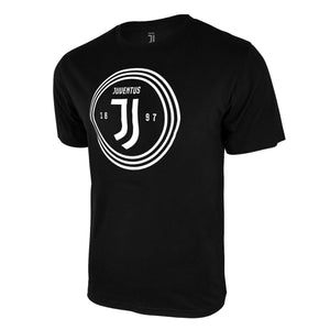Juventus Circle Logo T-Shirt - Dark Heather Grey by Icon Sports