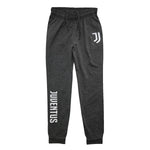 Juventus Reflective Logo Youth Joggers by Icon Sports