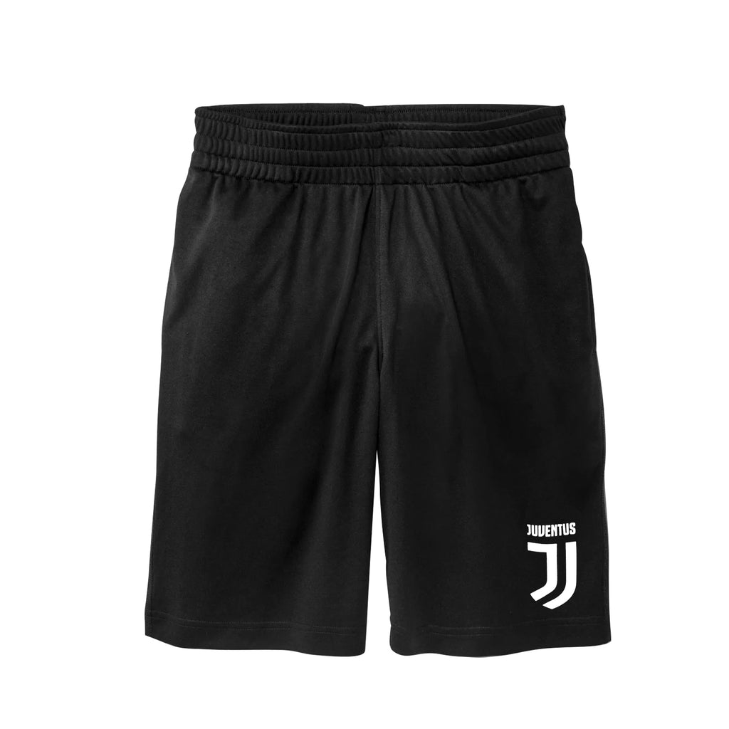 Juventus Solid Logo Youth Shorts by Icon Sports