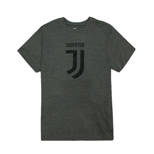 Juventus Logo Youth T-Shirt - Black by Icon Sports