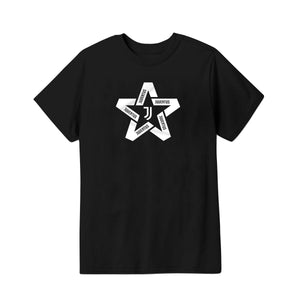 Juventus Star Youth T-Shirt - Black by Icon Sports