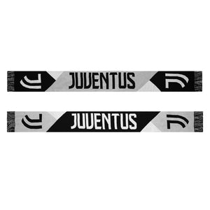 Juventus Facet Reversible Fan Fringe Scarf by Icon Sports