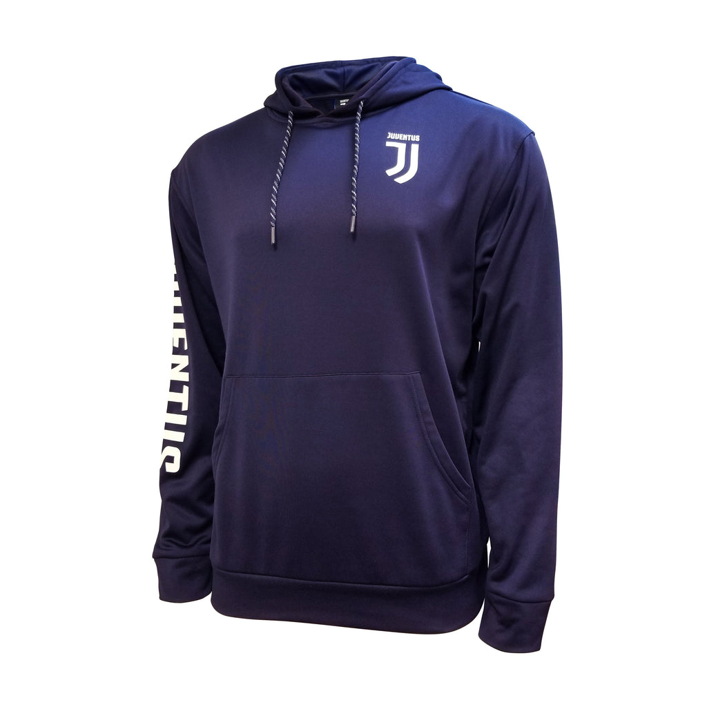 Juventus Pullover Hoodie Youth- Navy Blue by Icon Sports