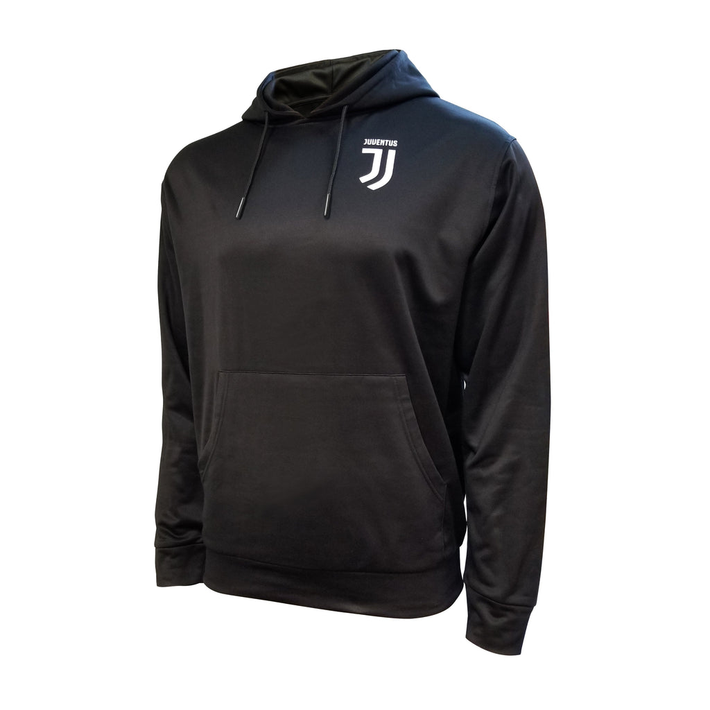 Juventus Pullover Hoodie Youth - Black by Icon Sports