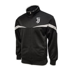 Juventus Adult Full Zip Track Jacket - Black & Gray