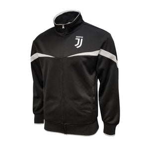 Juventus Full Zip Track Jacket - Black & Gray