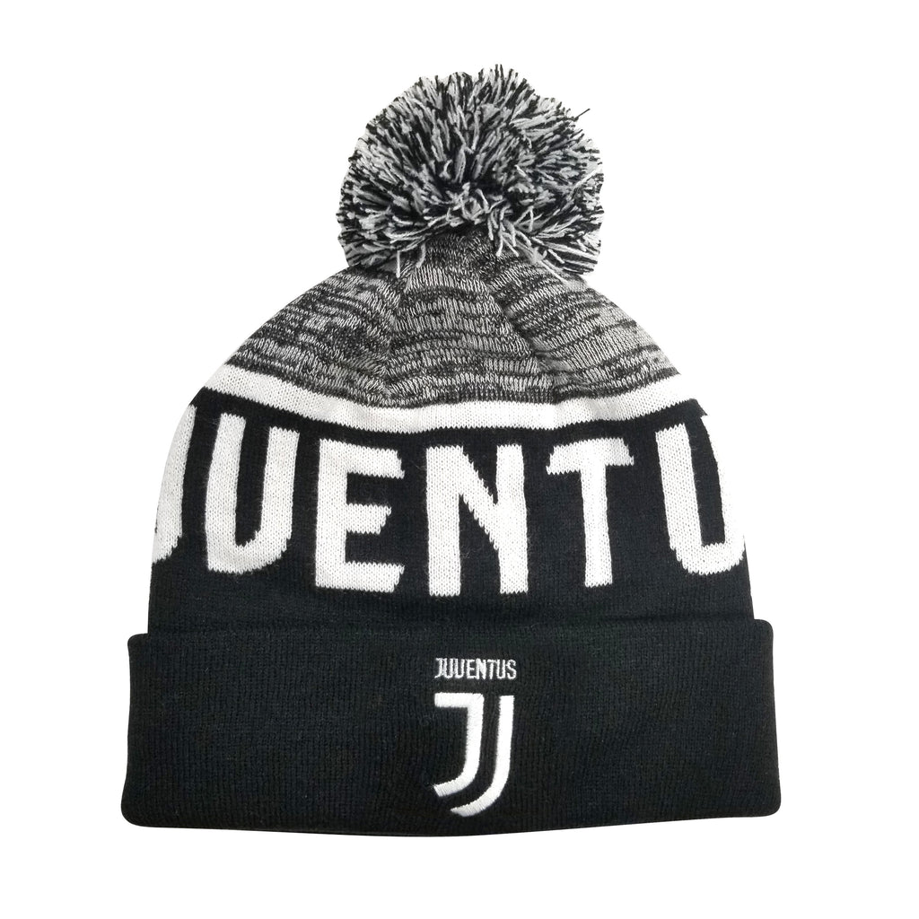 Juventus F.C. Cuff Pom Beanie by Icon Sports