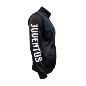 Juventus Adult Full-Zip Track Jacket - Black by Icon Sports