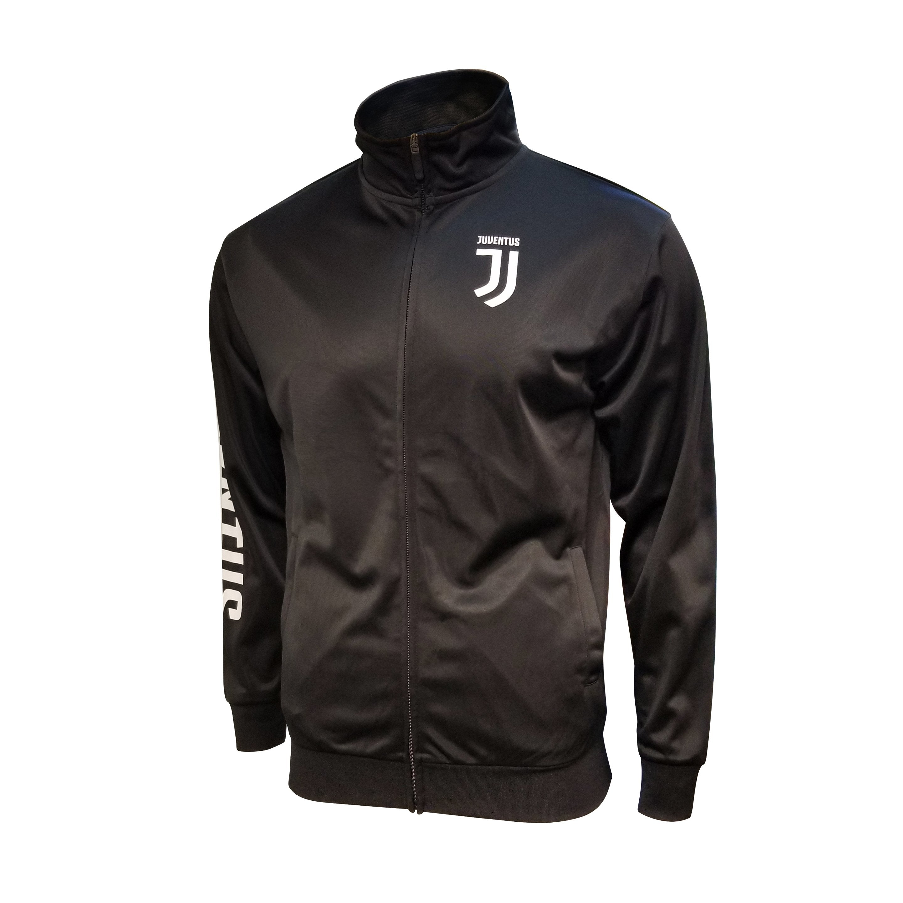 Juventus Youth Full-Zip Track Jacket - Black by Icon Sports