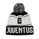 Juventus Adult Dotted Pom Beanie by Icon Sports