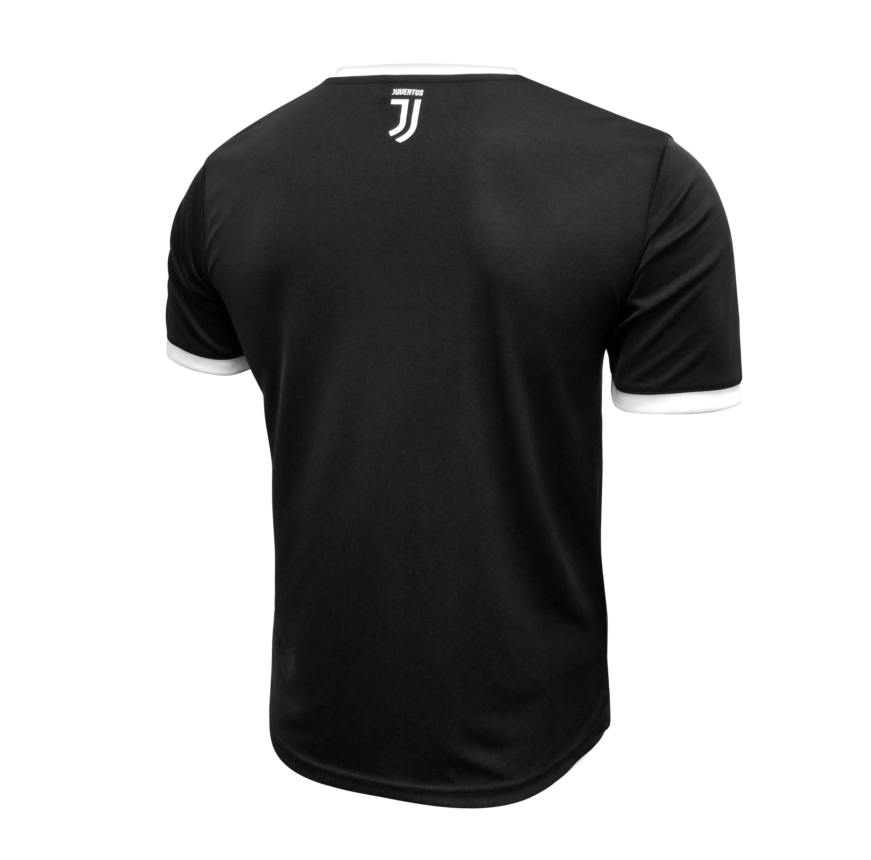 Juventus Men's Gridlocked Training Class Shirt - Black by Icon Sports