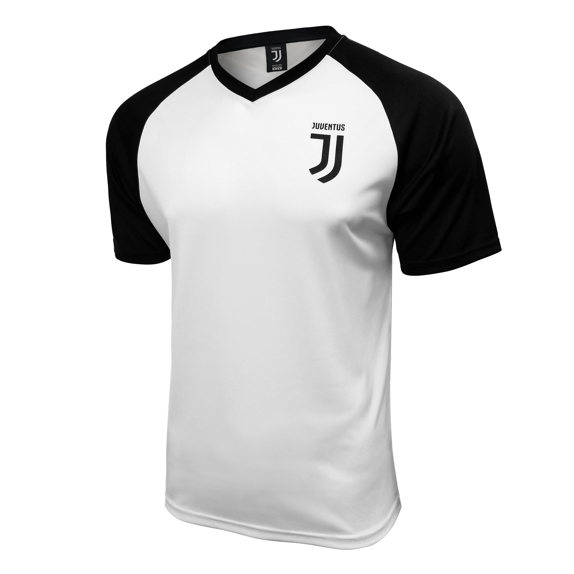 Juventus Men's Logo Training Class Raglan Shirt by Icon Sports