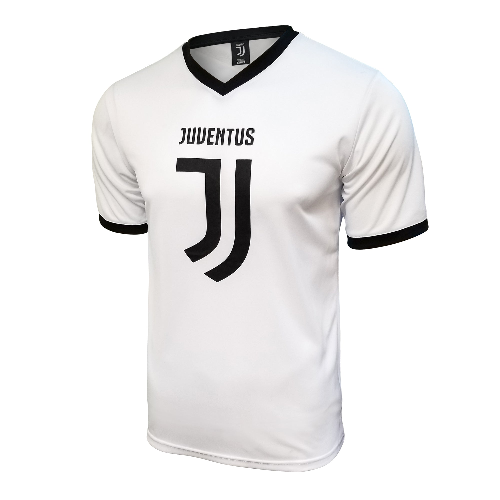 Juventus Logo Training Class Shirt - White by Icon Sports