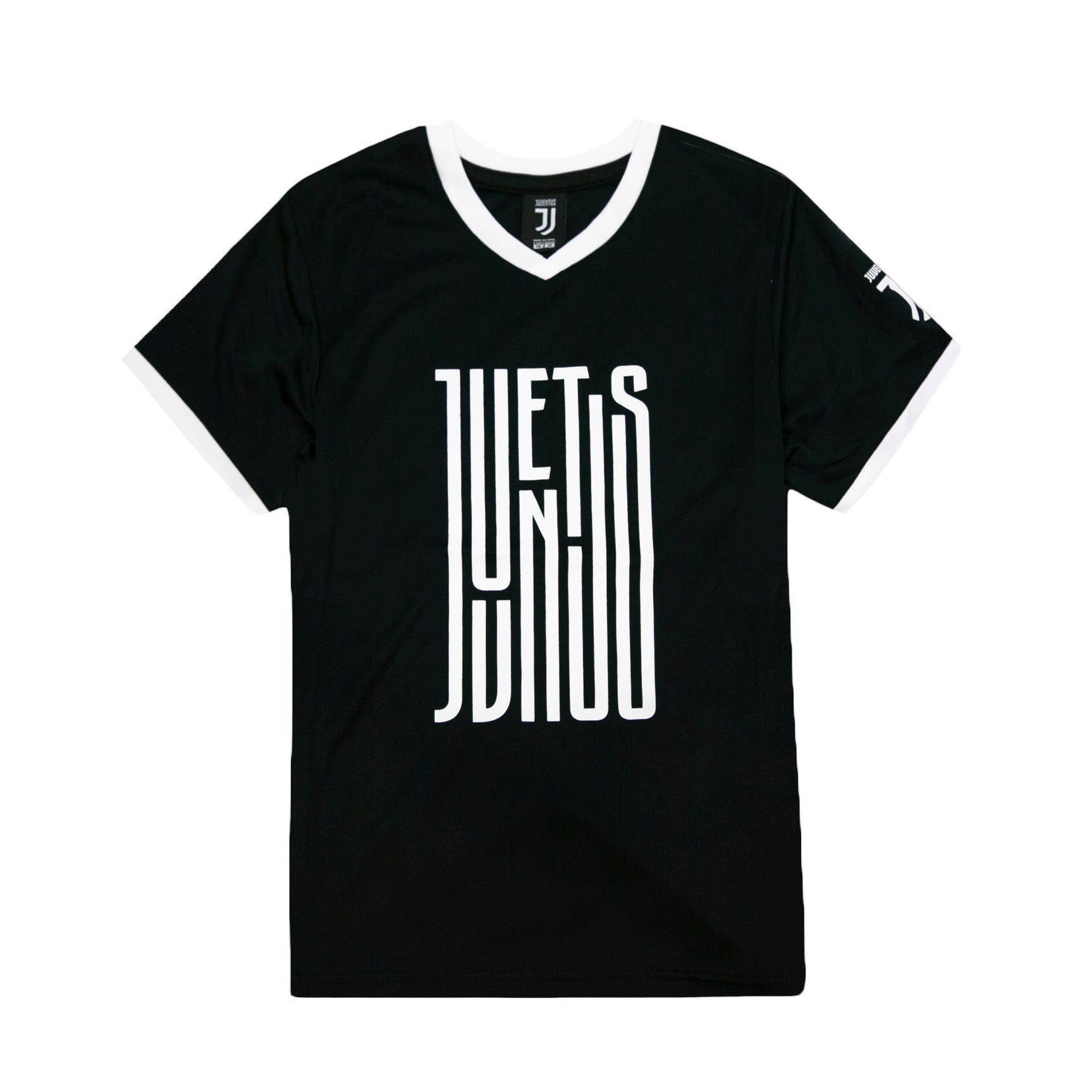 Juventus Youth Liquid Logo Training Class Shirt - Black by Icon Sports