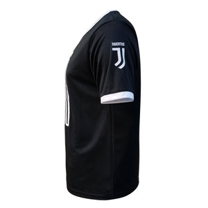 Juventus Men's Liquid Logo Training Class Shirt - Black by Icon Sports
