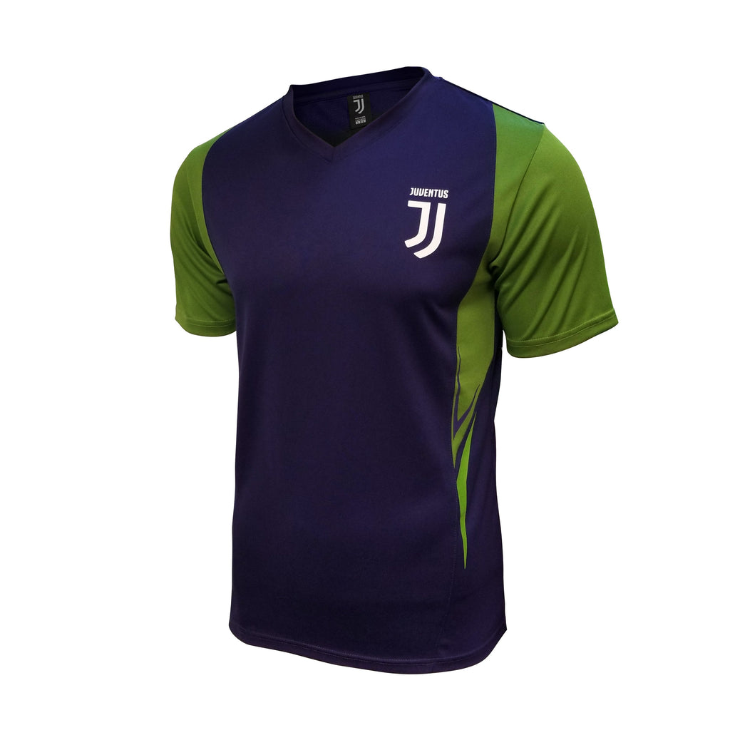 Juventus Shattered Stadium Class Poly Shirt - Navy