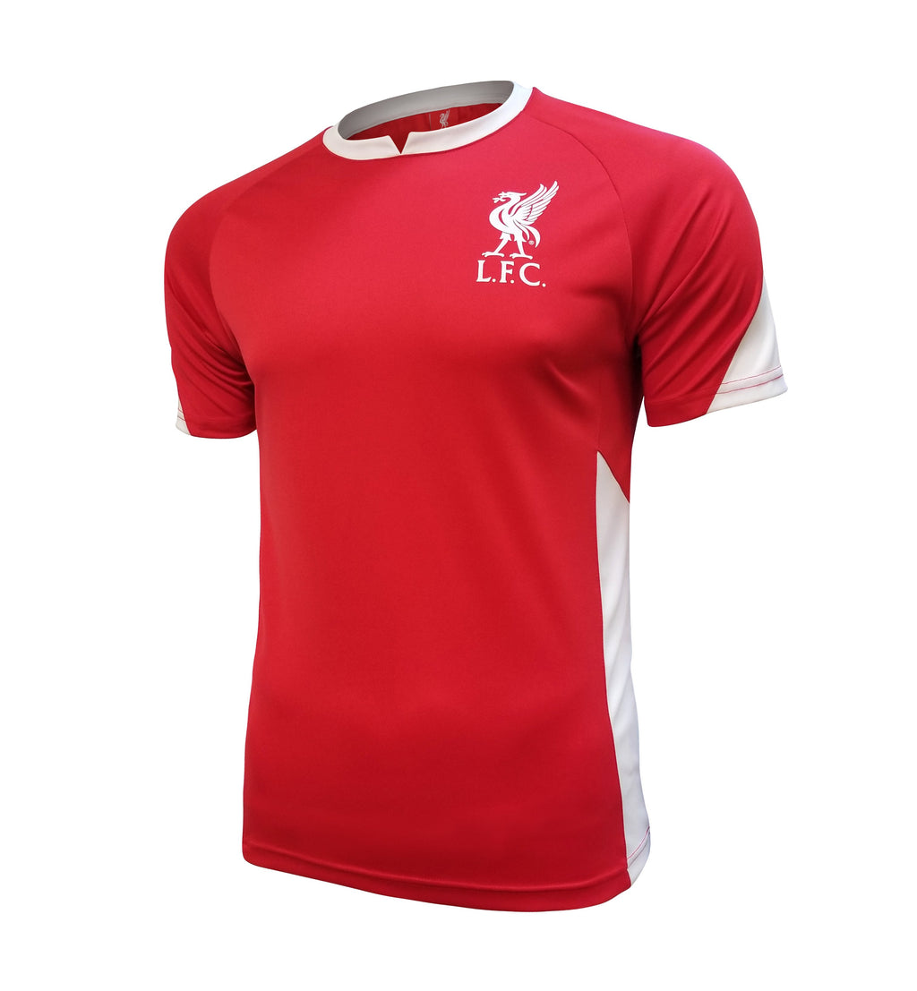 Liverpool FC Stadium Class Poly Shirt - Red White