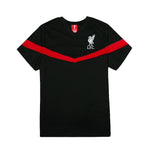 Liverpool FC Youth Polyester Tee - Black by Icon Sports