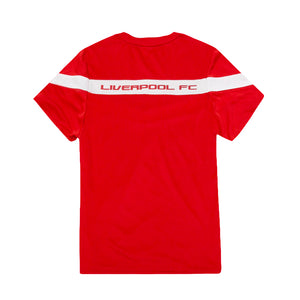Liverpool FC Youth Polyester Tee - Red by Icon Sports