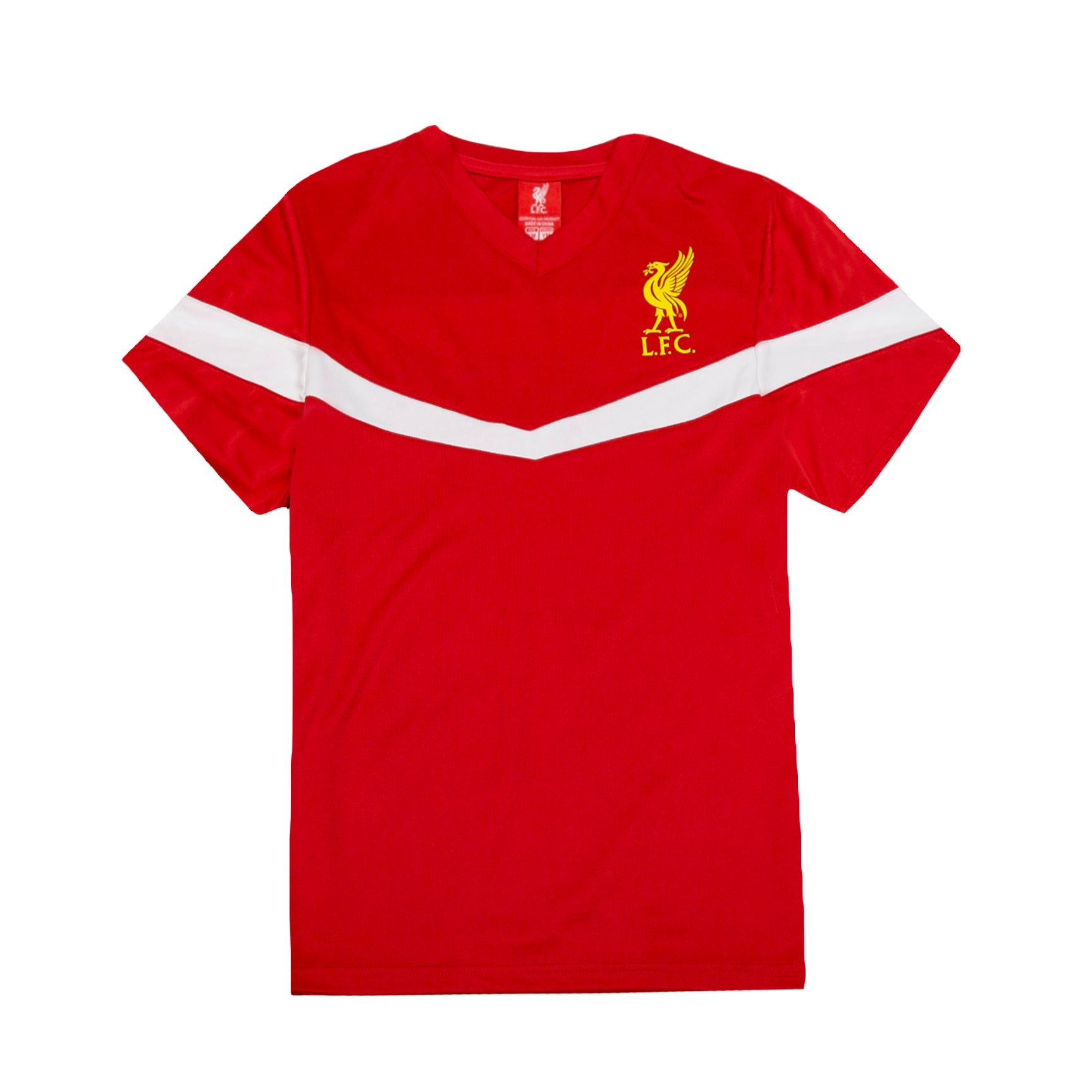 Liverpool FC Youth Game Class Polyester Tee - Red by Icon Sports