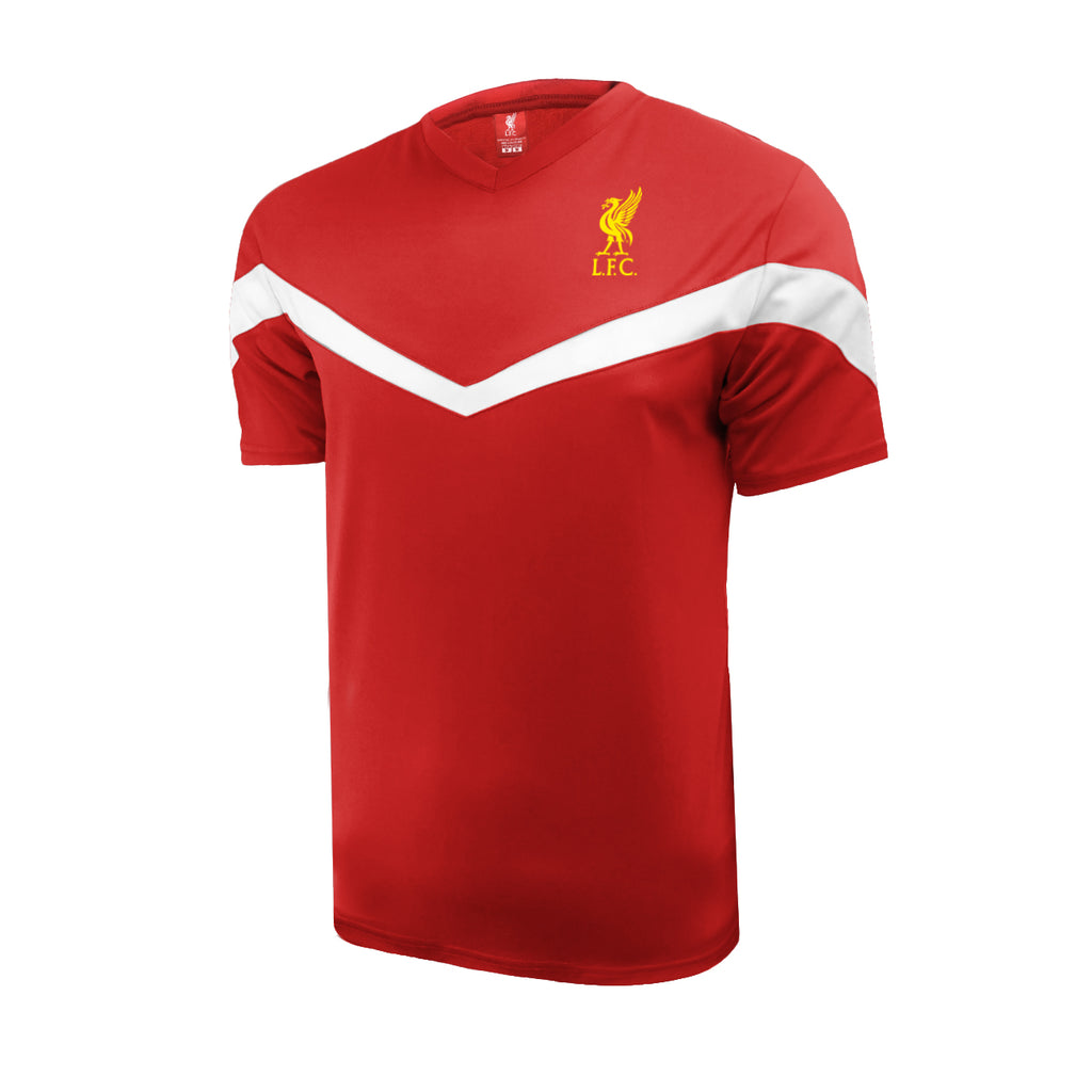 Liverpool FC Men's C.B. Game Day Shirt - Red by Icon Sports