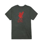 Liverpool FC Liverbird Logo Youth T-Shirt - Black by Icon Sports