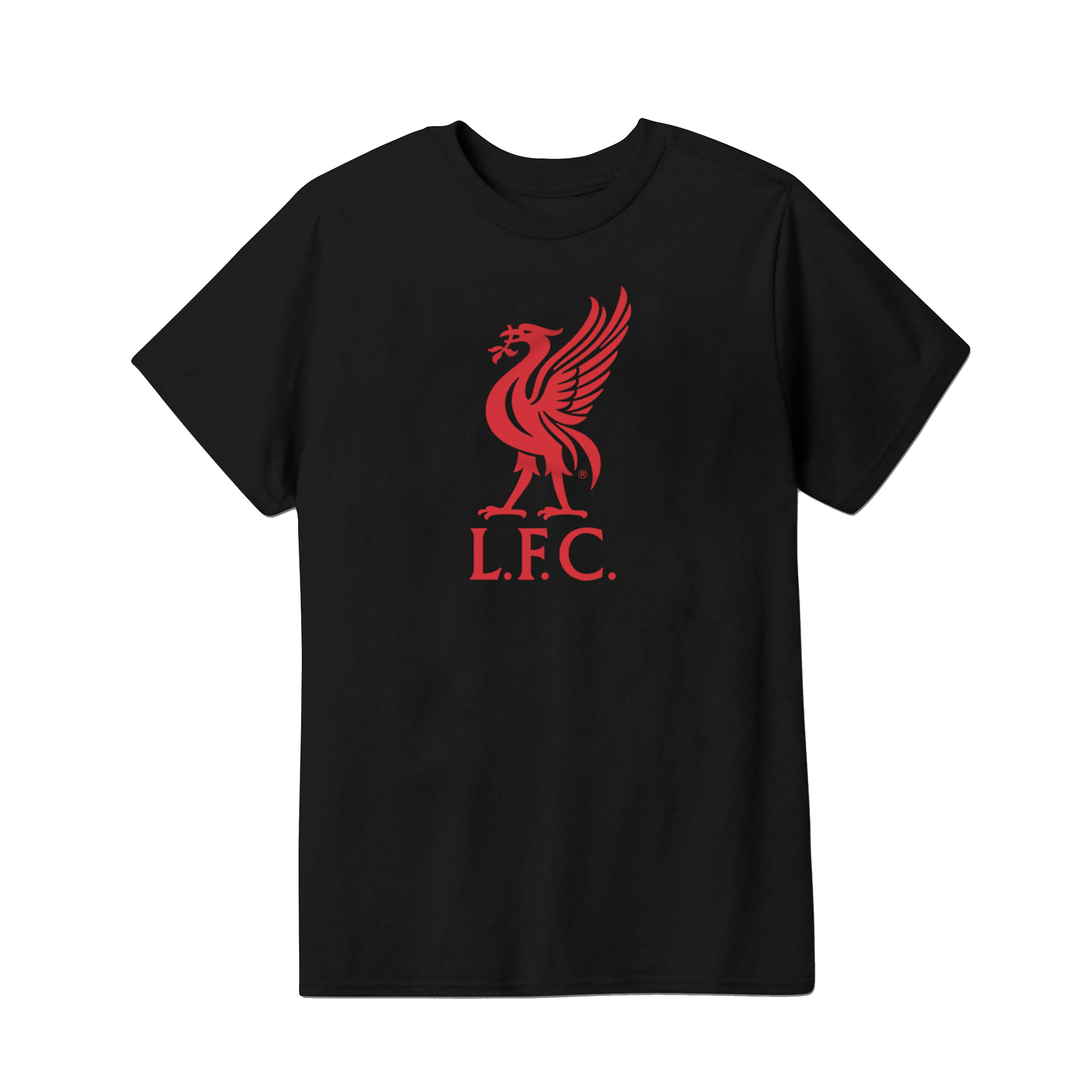 Liverpool FC Liverbird Logo Youth T-Shirt by Icon Sports