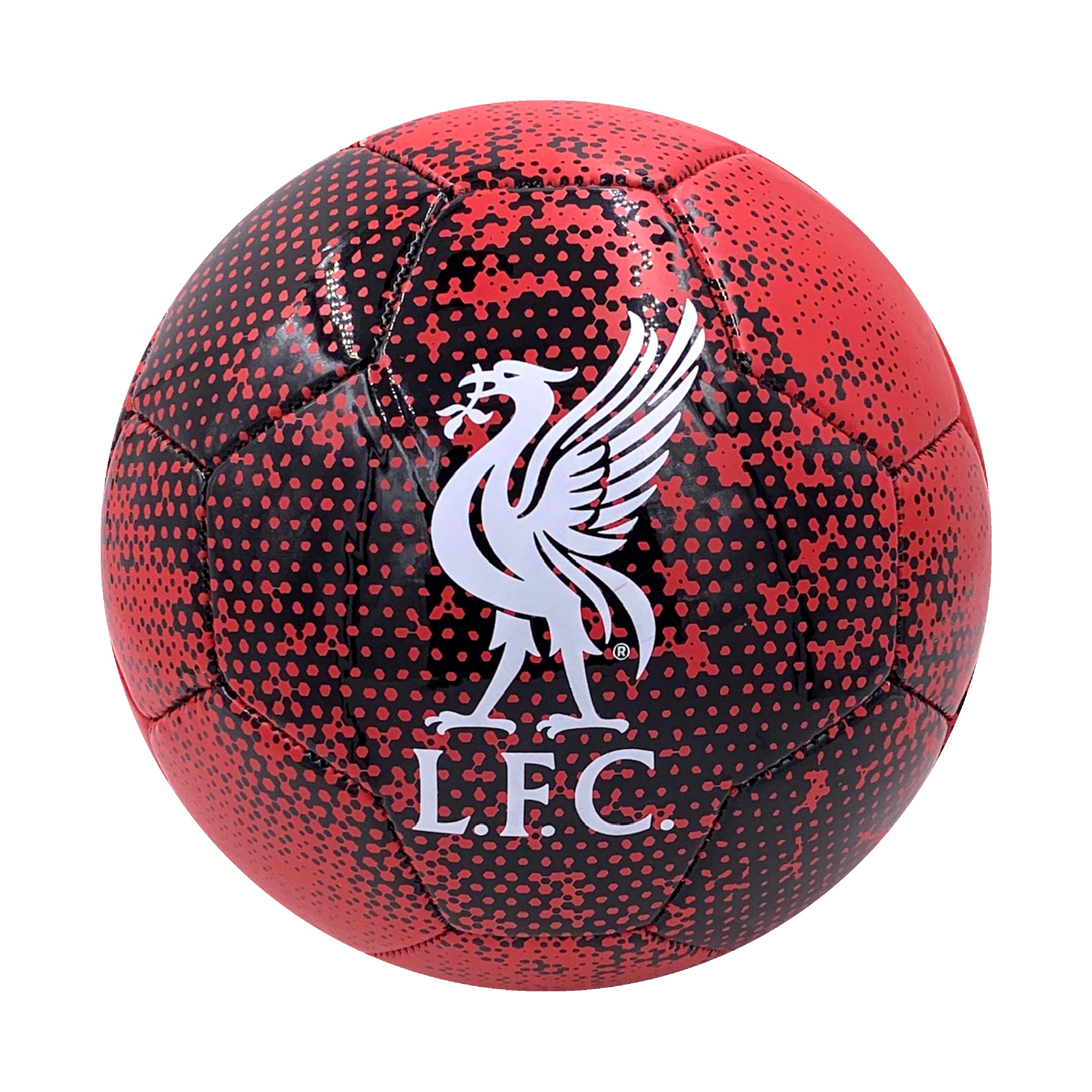 Liverpool FC Solarized Size 5 Soccer Ball by Icon Sports