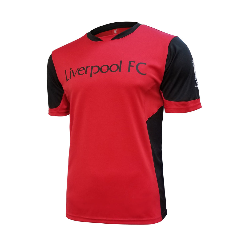 Liverpool FC Game Class Striker Shirt - Red/Black by Icon Sports