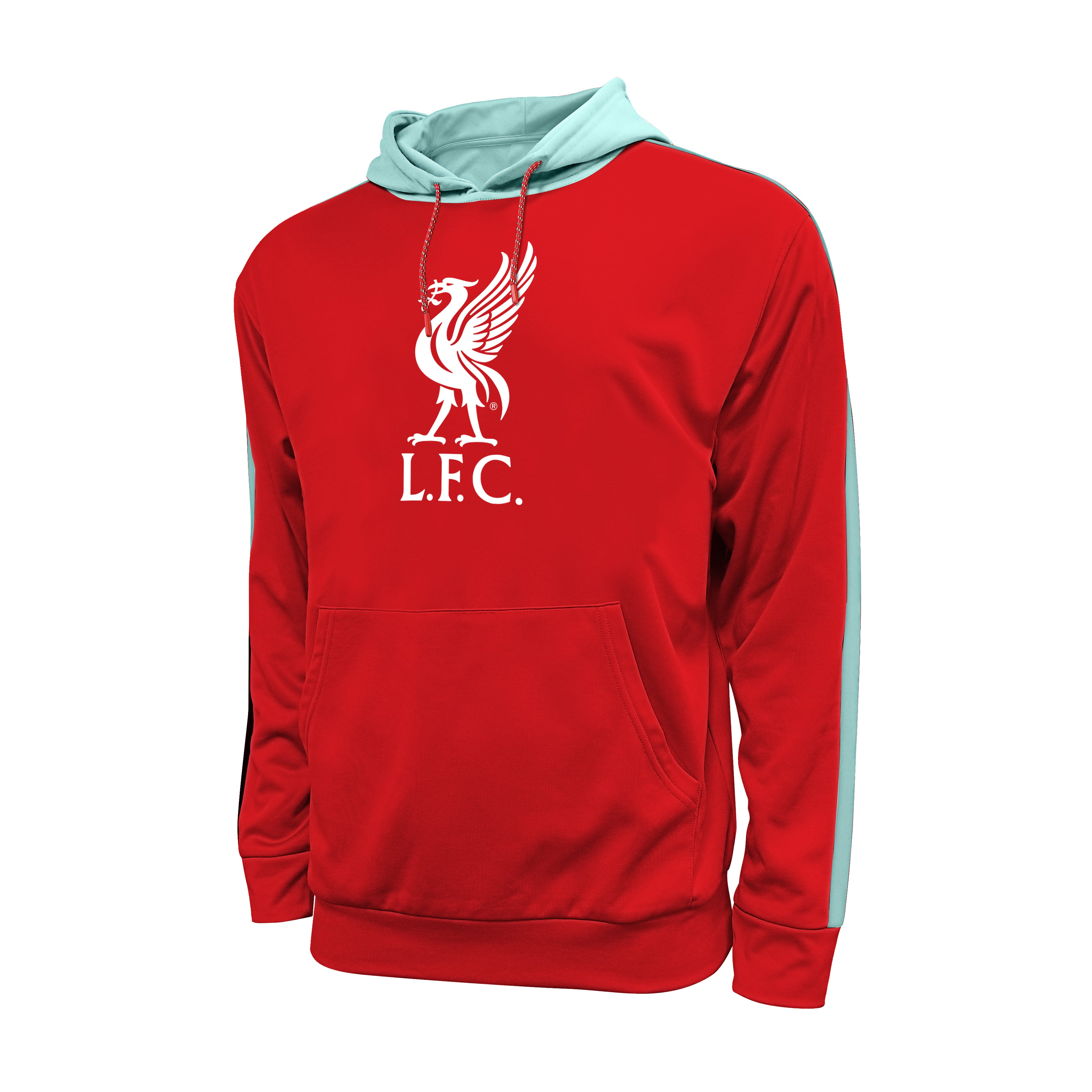 Liverpool FC Side Step Pullover Hoodie by Icon Sports