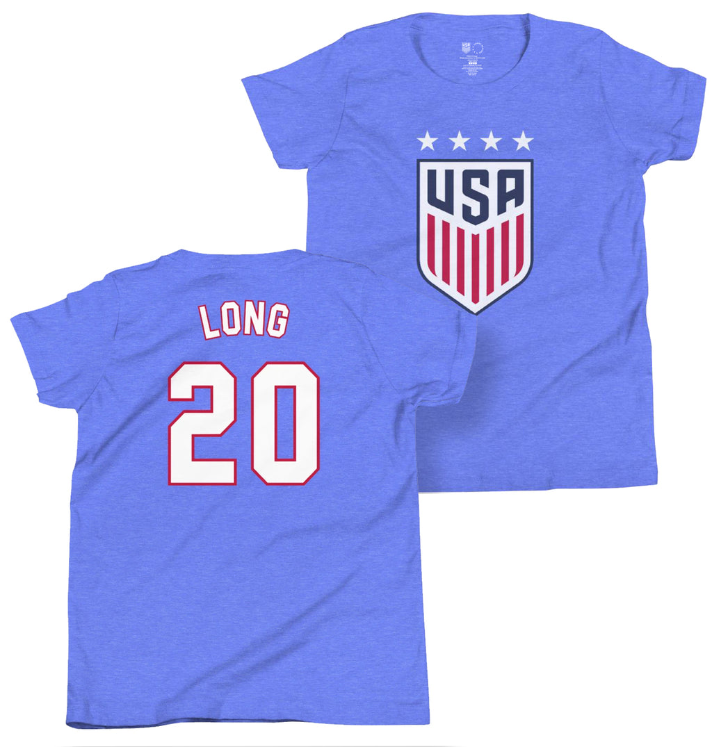 Allie Long Youth USWNT 4 Star T-Shirt